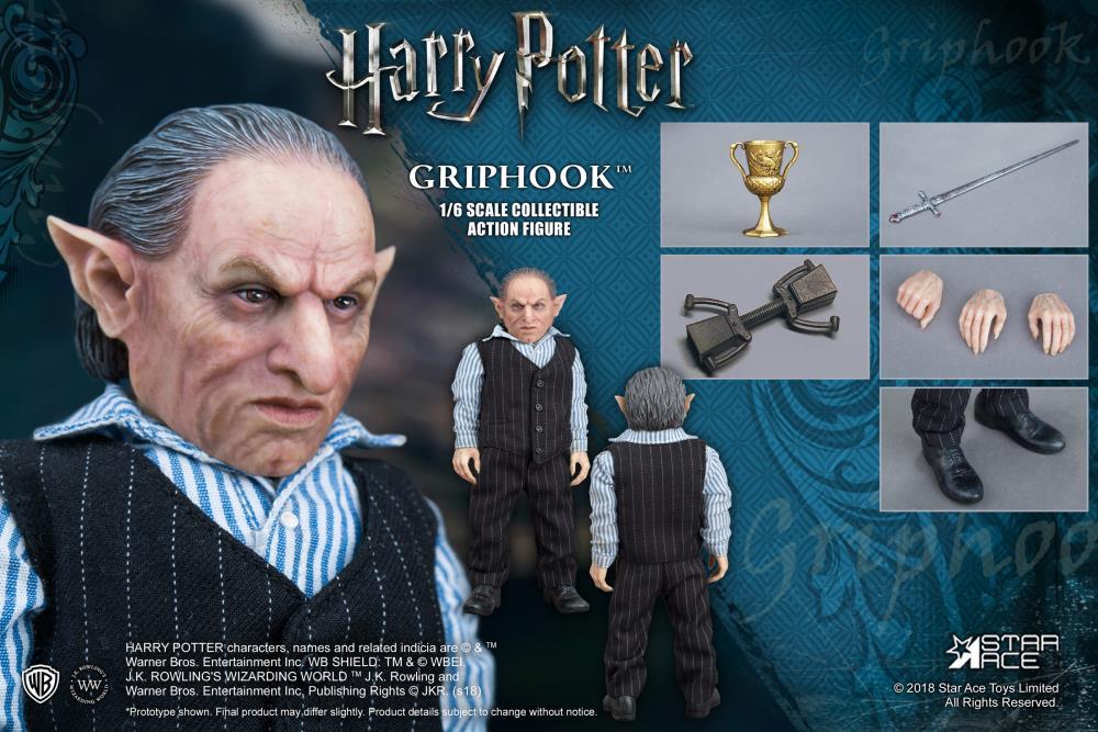 PRÉ VENDA: Boneco Griphook: Harry Potter e as Relíquias da Morte (Deathly Hallows) Escala 1/6 - Star Ace