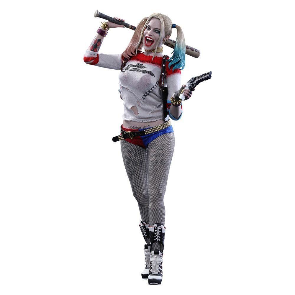 Action Figure Arlequina (Harley Quinn): Esquadrão Suicida (Suicide Squad) MMS383 (Escala 1/6) - Hot Toys