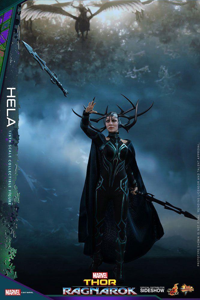 Action Figure Hela: Thor Ragnarok (MMS449) Escala 1/6 - Hot Toys