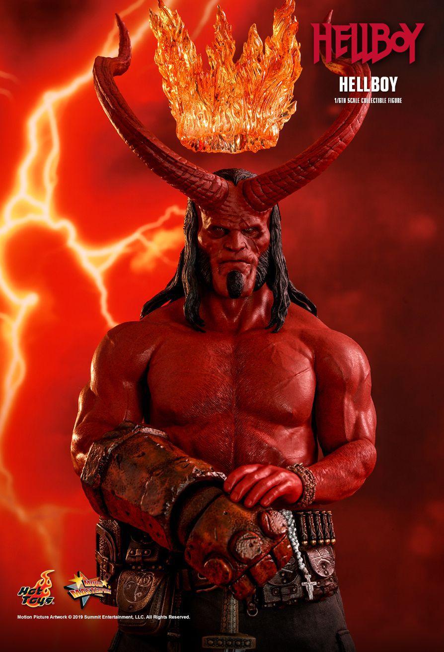 Action Figure Hellboy: Hellboy 2019 MMS527 Escala 1/6 - Hot Toys