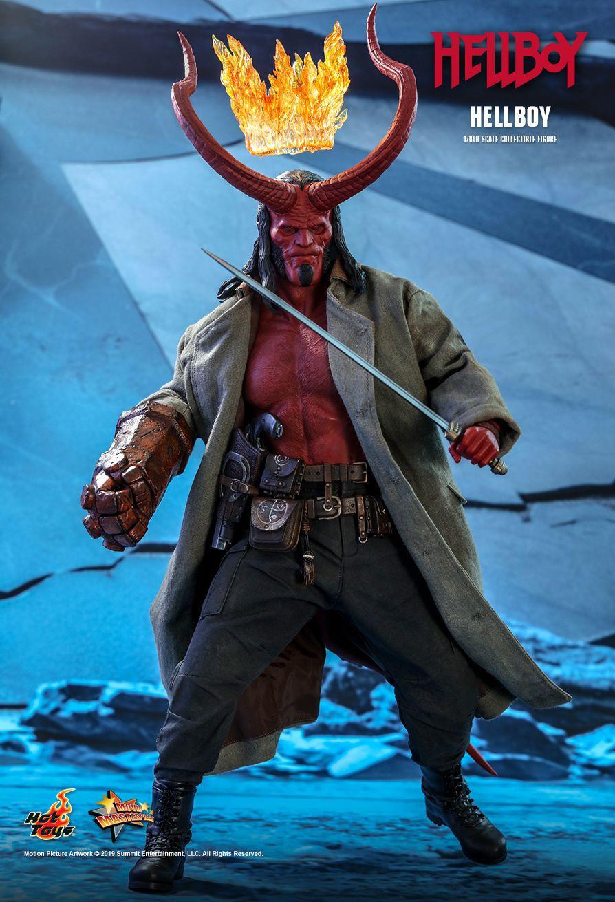 PRÉ VENDA Action Figure Hellboy: Hellboy (2019) MMS527 Escala 1/6 - Boneco Colecionável - Hot Toys