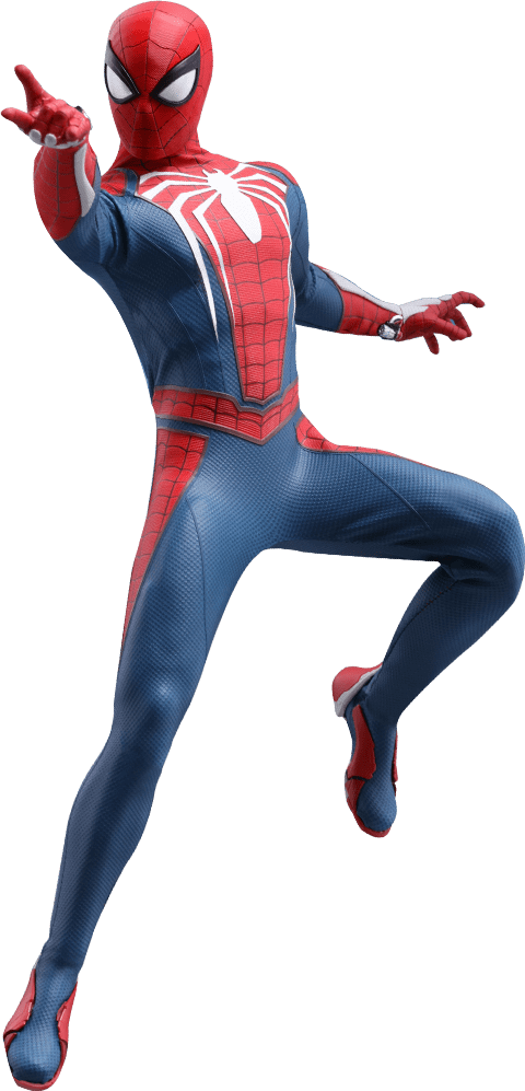 Action Figure Homem-Aranha (Spider-Man) Advanced Suit: Marvel's Spider-Man (PS4) VGM31 (Escala 1/6) - Hot Toys