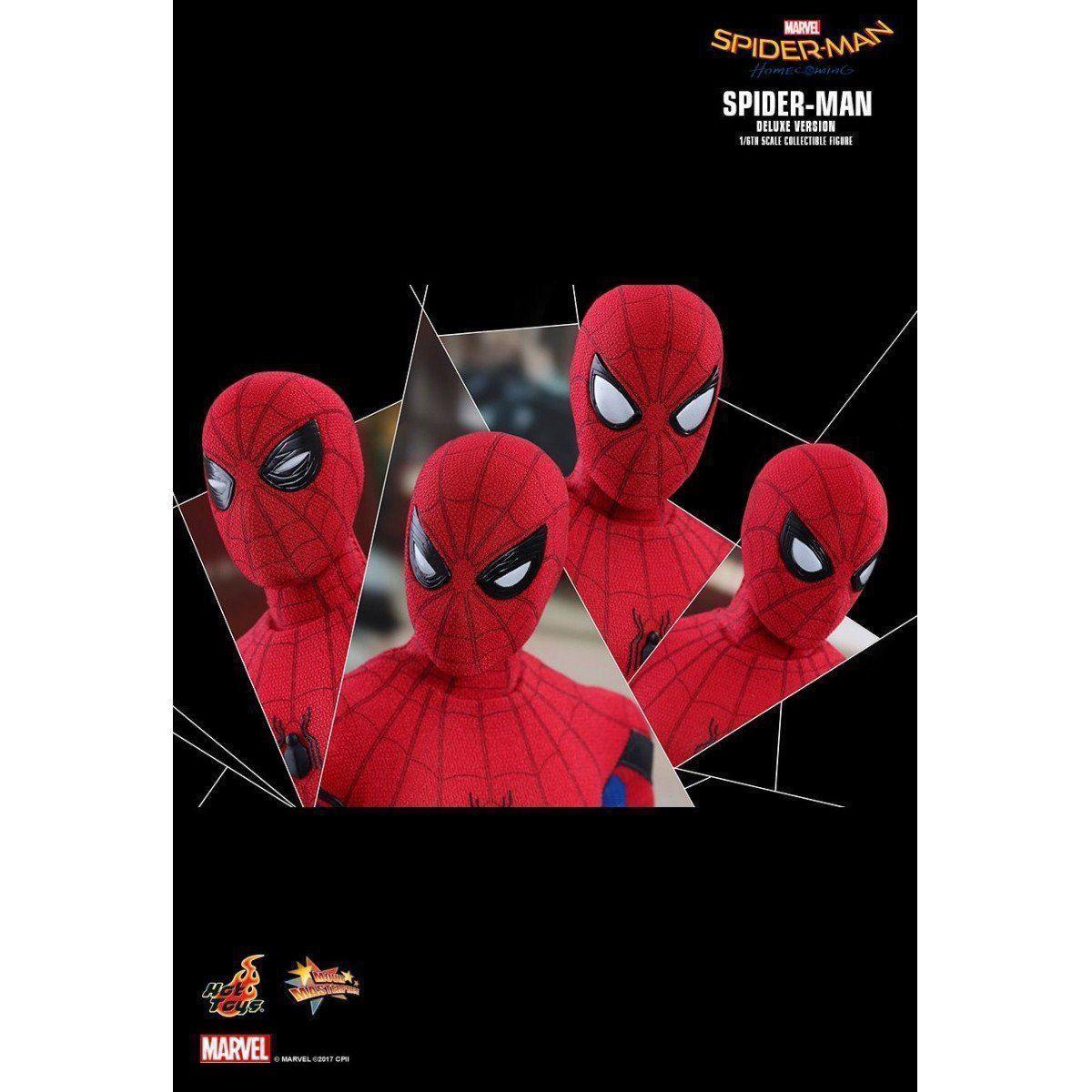 PRÉ VENDA: Boneco Homem-Aranha (Spider-Man): Homem-Aranha De Volta ao Lar (Spider-Man Homecoming) Deluxe Version Escala 1/6 - Hot Toys