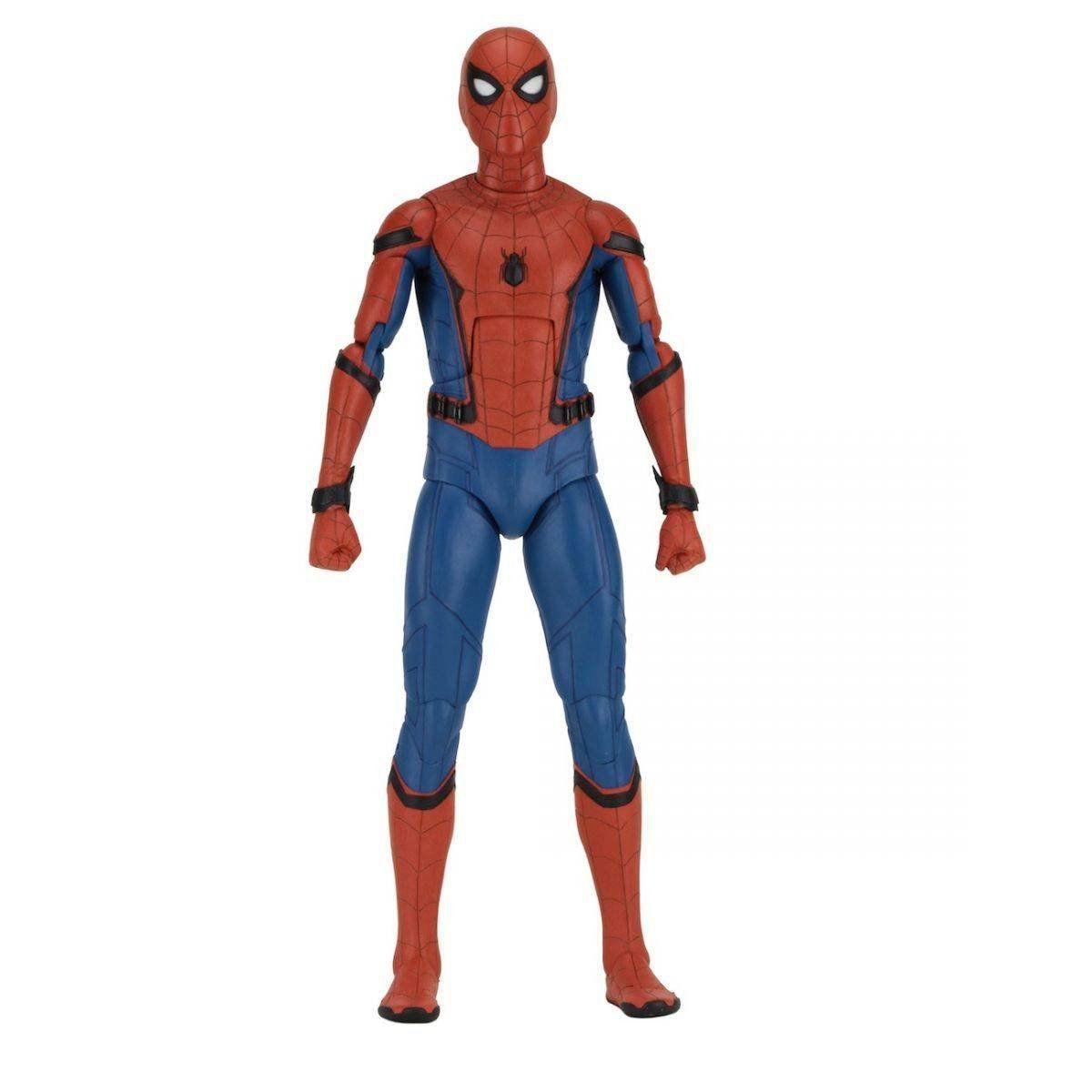Boneco Homem-Aranha (Spider-Man): Homem-Aranha De Volta ao Lar (Spider-Man Homecoming) Escala 1/4 - NECA