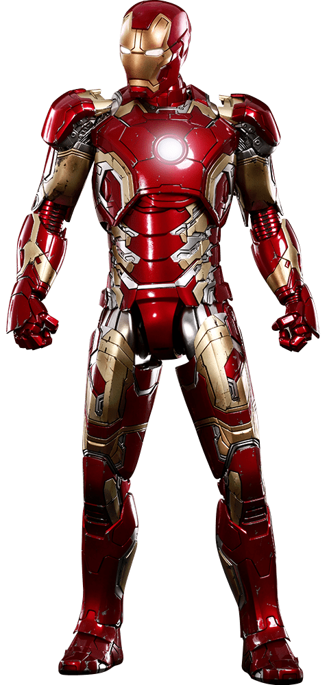 PRÉ VENDA: Boneco Homem de Ferro (Iron Man) Mark XLIII: Vingadores Era de Ultron (Avengers: Age of Ultron) Diecast (MMS278D09) Escala 1/6 - Hot Toys