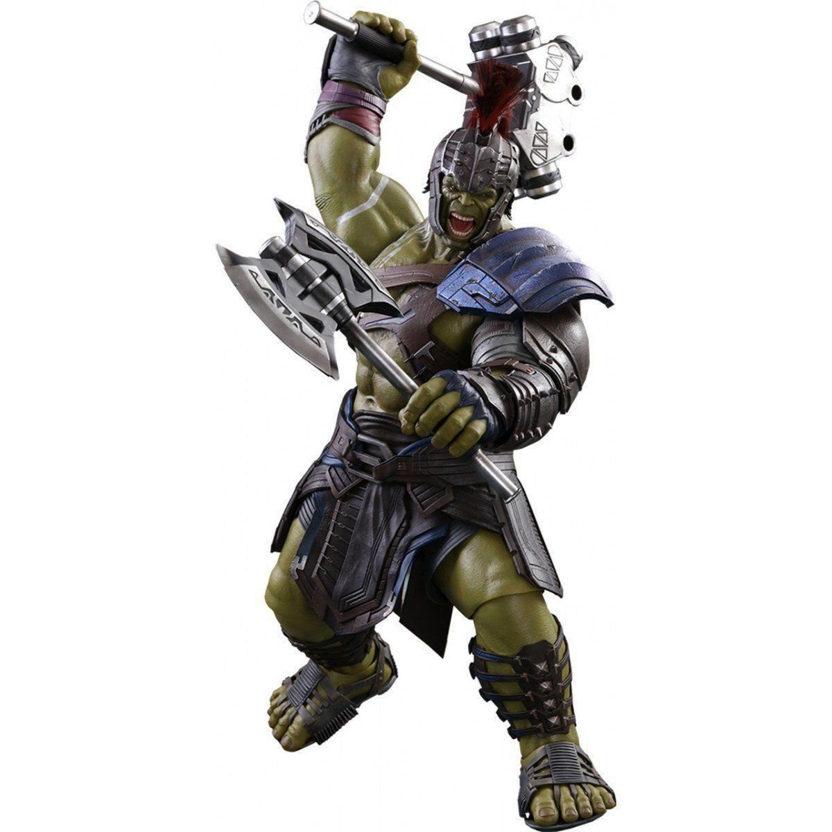 Action Figure Hulk Gladiador (Gladiator): Thor Ragnarok (Escala 1/6) (MMS430) - Hot Toys