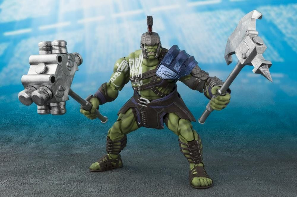 Action Figure Hulk Gladiador (Gladiator): Thor Ragnarok (S.H.Figuarts) - Bandai