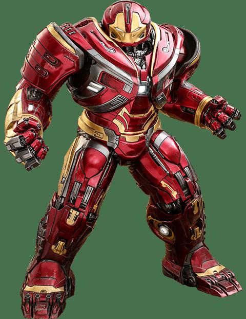 Action Figure Hulkbuster: Vingadores Guerra Infinita (Avengers Infinity War) (PPS005) Escala 1/6 - Hot Toys