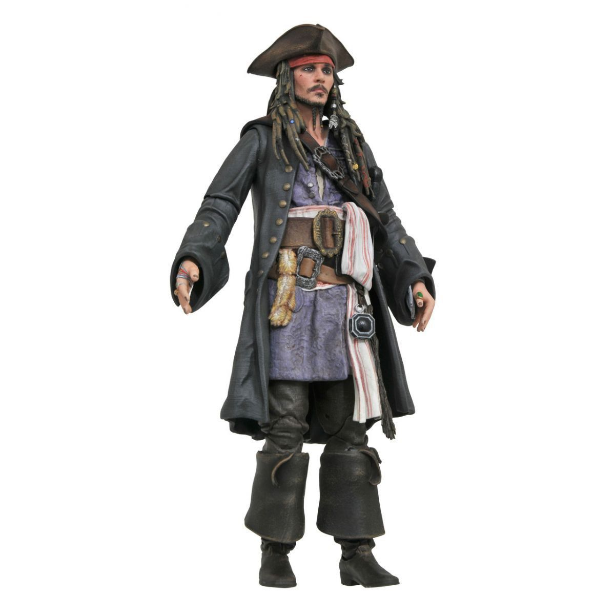 PRÉ VENDA: Boneco Jack Sparrow: Piratas do Caribe: A Vingança de Salazar - Diamond Select