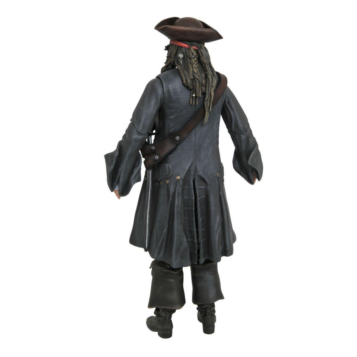 PRÉ VENDA: Boneco Jack Sparrow: Piratas do Caribe: A Vingança de Salazar - Diamond Select