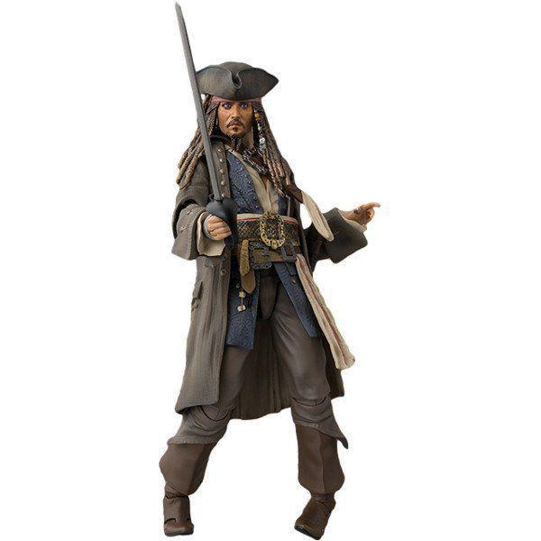 PRÉ VENDA: Boneco Jack Sparrow: Piratas do Caribe: A Vingança de Salazar S.H. Figuarts - Bandai