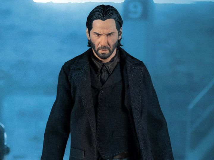 PRÉ VENDA Action Figure John Wick (Chapter 2) One:12 Collective Escala 1/12 (Exclusive Deluxe Edition) Boneco Colecionável - Mezco