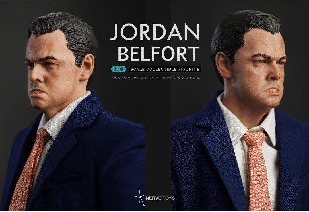 Boneco Jordan Belfort: Lobo de Wall Street (Wall Street Wolf Little Plum ) Escala 1/6 - Nerve Toys (Apenas Venda Online)