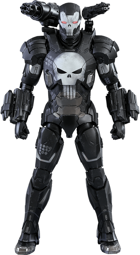 PRÉ VENDA: Boneco Justiceiro Máquina de Combate (The Punisher War Machine Armor) : Marvel Future Fight (Escala 1/6) VGM33D28 - Hot Toys