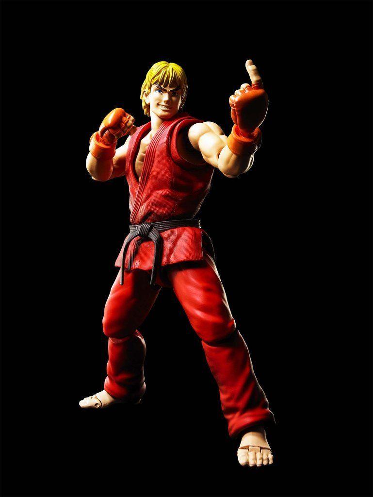 Boneco Ken: Street Fighter S.H.Figuarts - Bandai