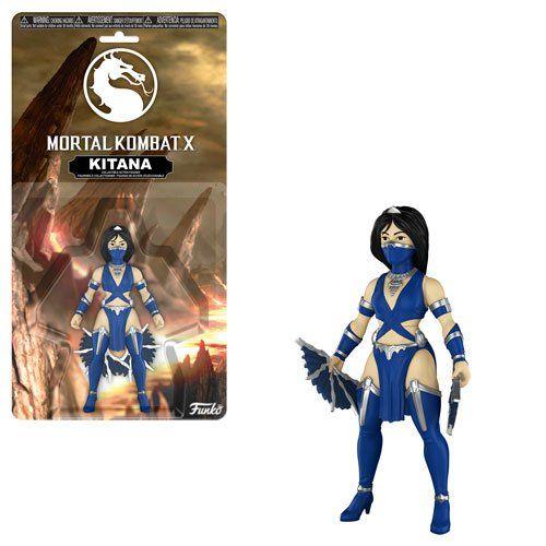 PRÉ VENDA: Boneco Kitana: Mortal Kombat - Funko