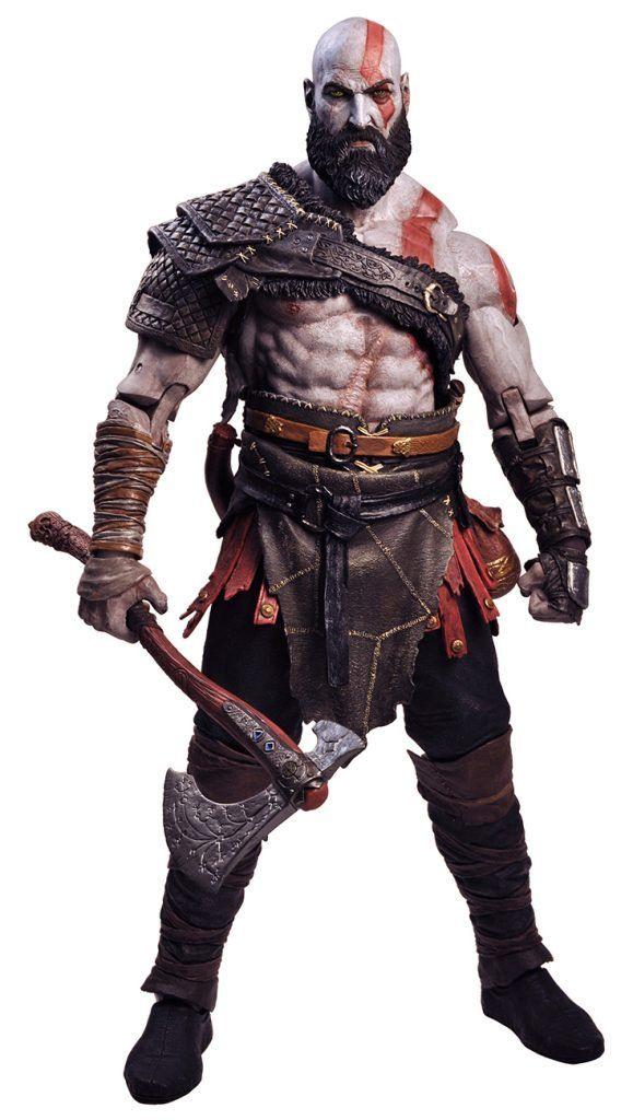 Boneco Kratos: God of War 1/4 - NECA