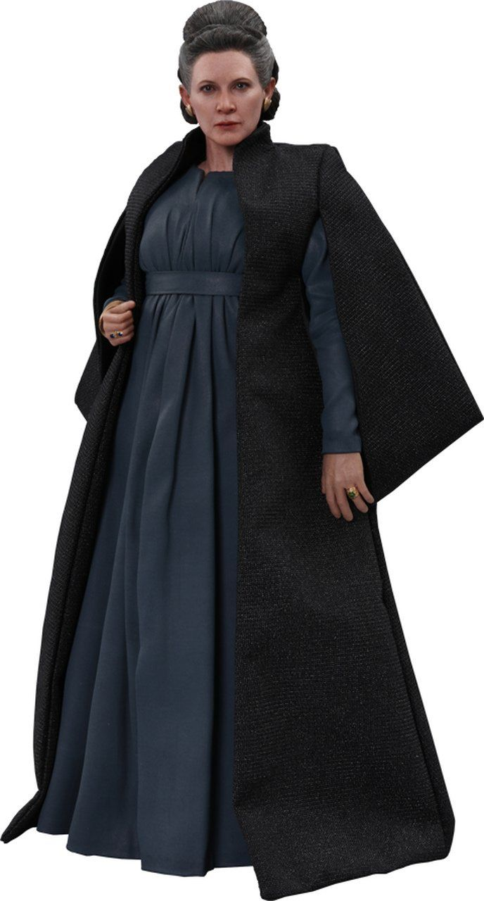 Boneco Leia Organa: Star Wars The Last Jedi (MMS459) Escala 1/6 - Hot Toys