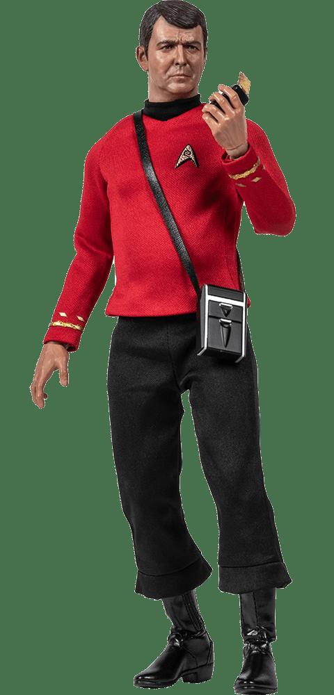 PRÉ VENDA: Boneco Lt. Commander Montgomery Scott: Star Trek - Quantum Mechanix