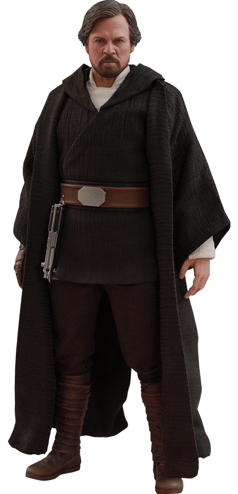 PRÉ VENDA: Boneco Luke Skywalker (Crait): Star Wars Os Últimos Jedi (The Last Jedi) Escala 1/6 (MMS507) - Hot Toys