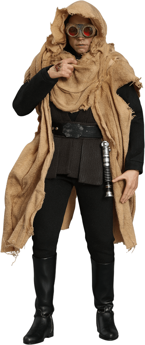 PRÉ VENDA: Boneco Luke Skywalker (Endor) Deluxe: Star Wars Episódio VI O Retorno de Jedi (Return of the Jedi) Escala 1/6 (MMS517) - Hot Toys