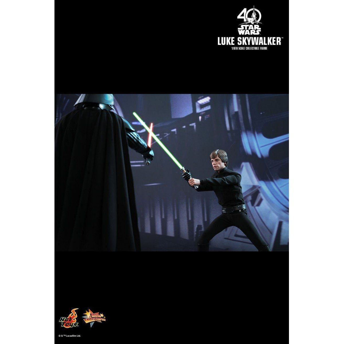 PRÉ VENDA: Boneco Luke Skywalker: Star Wars: O Retorno de Jedi Escala 1/6 - Hot Toys