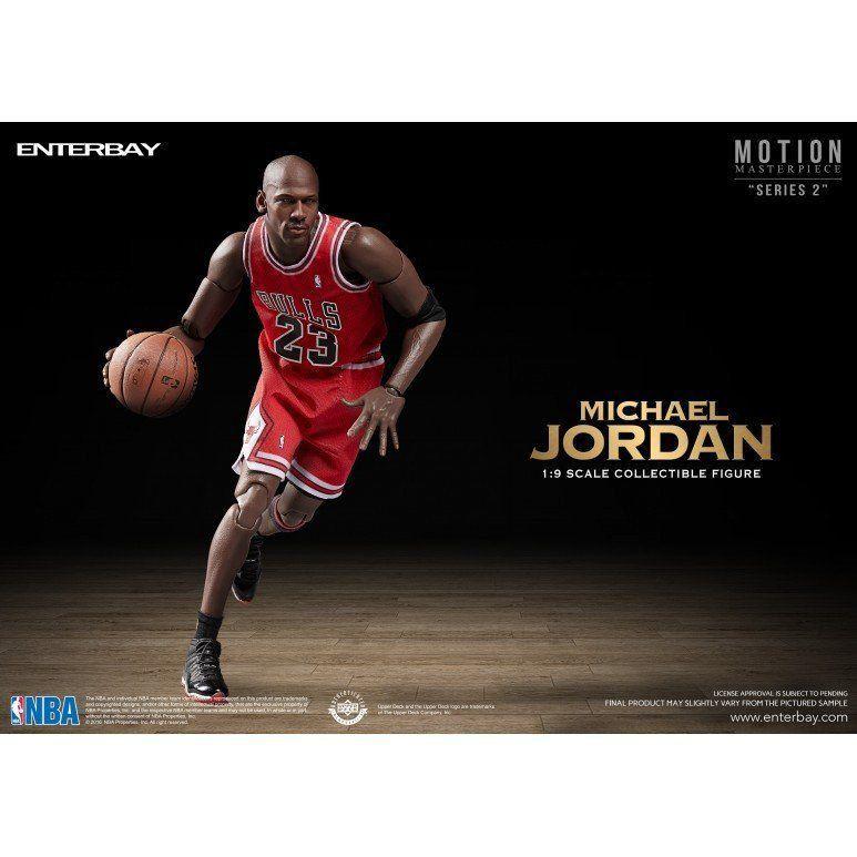 PRÉ VENDA: Boneco Michael Jordan Motion Masterpiece Series 2 Escala 1/9 - Enterbay