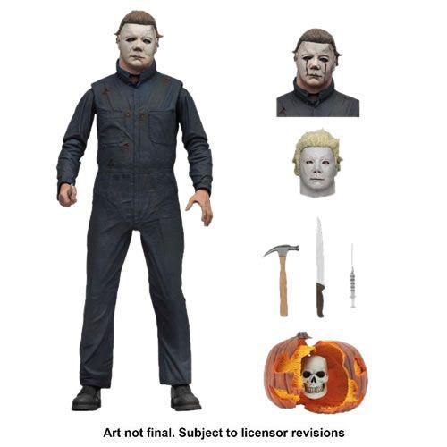 "PRÉ VENDA Action Figure Michael Myers 7"": Halloween 2 (1981) Boneco Colecionável - Neca"