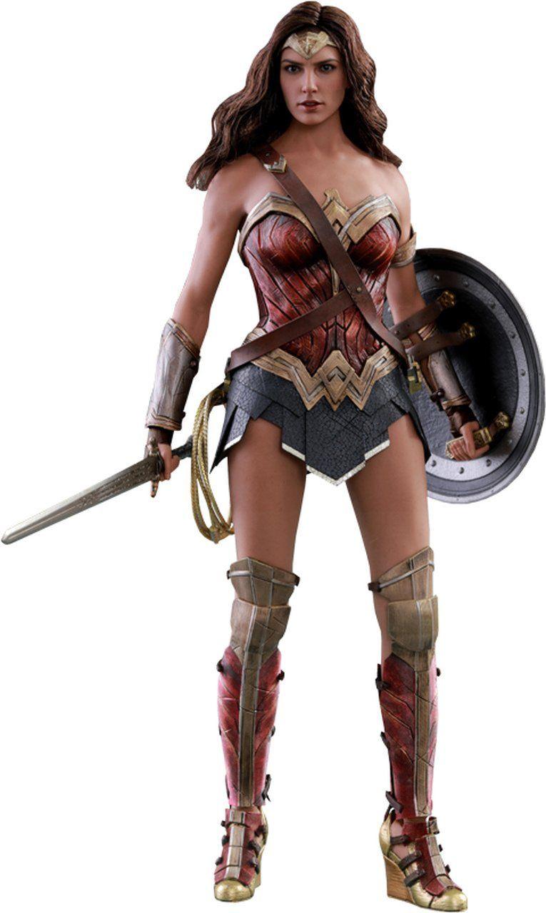 Boneco Mulher Maravilha (Wonder Woman): Liga da Justiça (Justice League) (Masterpiece) Escala 1/6 (MMS450) - Hot Toys