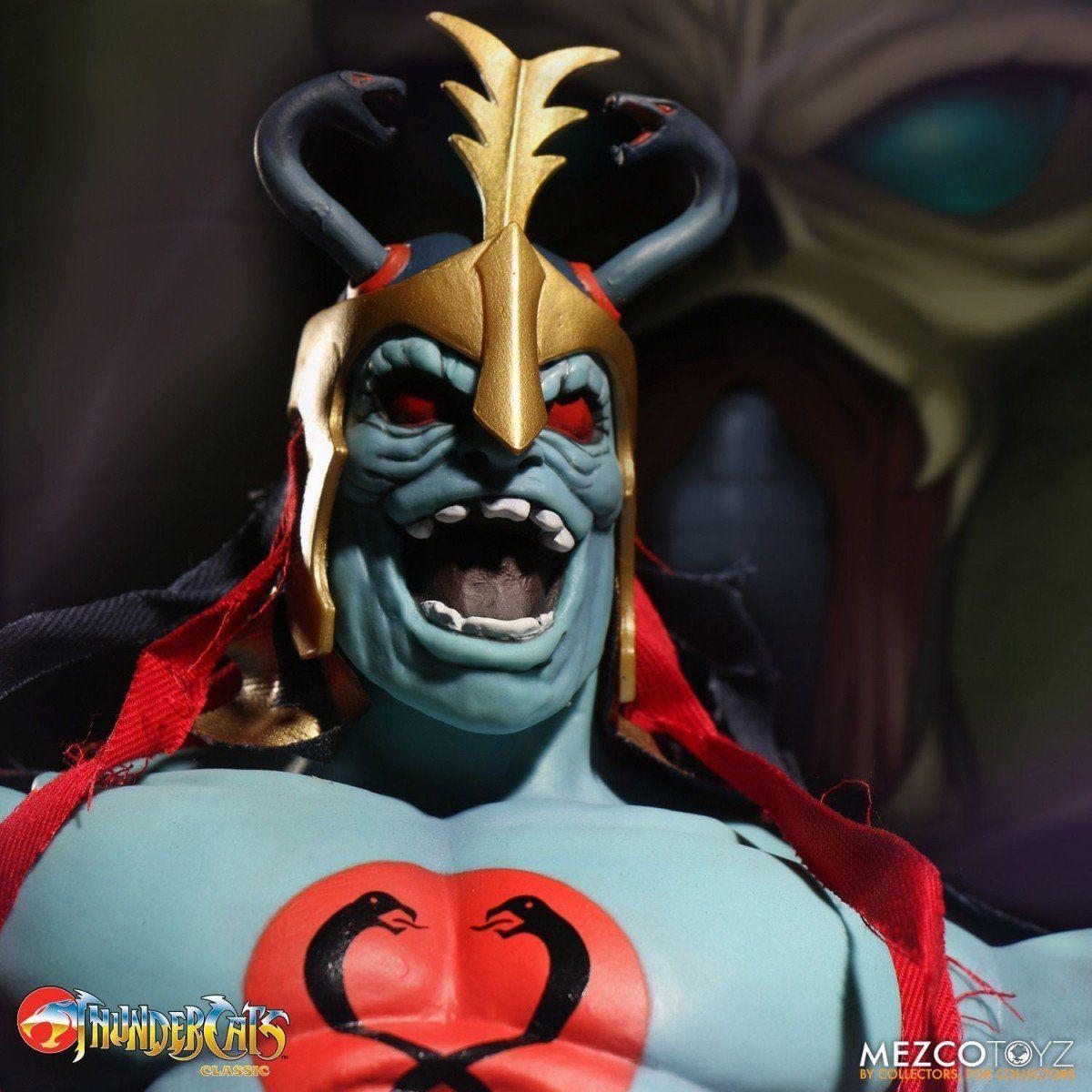 Boneco Mumm-Ra: Thundercats Mega Scale (Versão Exclusiva que Brilha no Escuro) - Mezco
