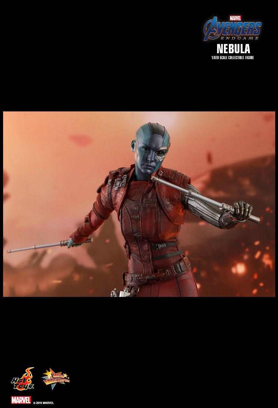Action Figure Nebulosa Nebula: Vingadores Ultimato (Avengers Endgame) MMS534 Escala 1/6  - Hot Toys