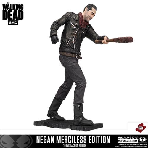 PRÉ VENDA: Boneco Negan (Merciless Edition): The Walking Dead - Mcfarlane