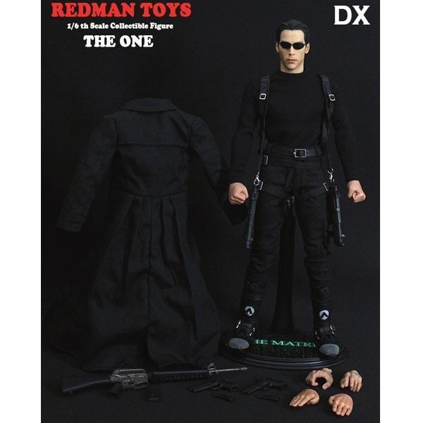 Boneco Neo (The One Deluxe): Matrix - Redman Toys (Apenas Venda Online)