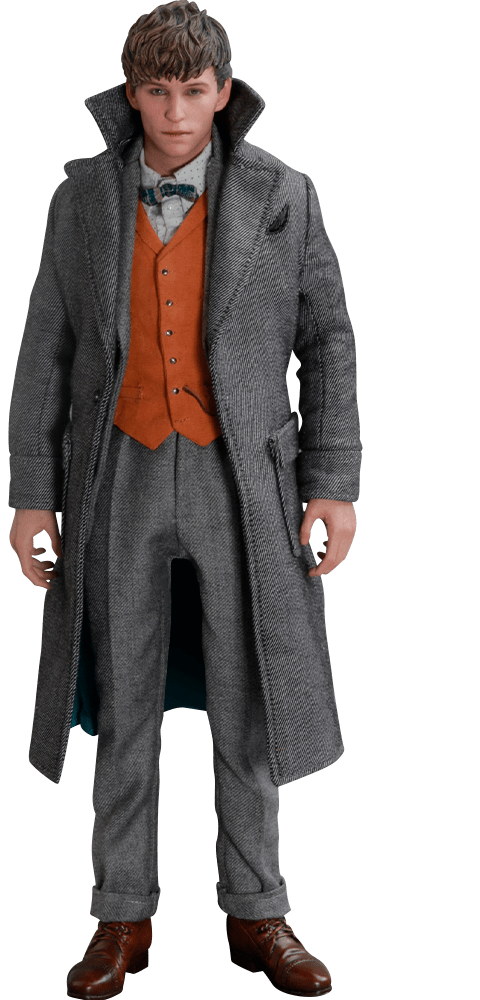 PRÉ-VENDAAction Figure Newt Scamander: Animais Fantásticos: Os Crimes de Grindelwald MMS512 Escala 1/6 - Boneco Colecionável - Hot Toys