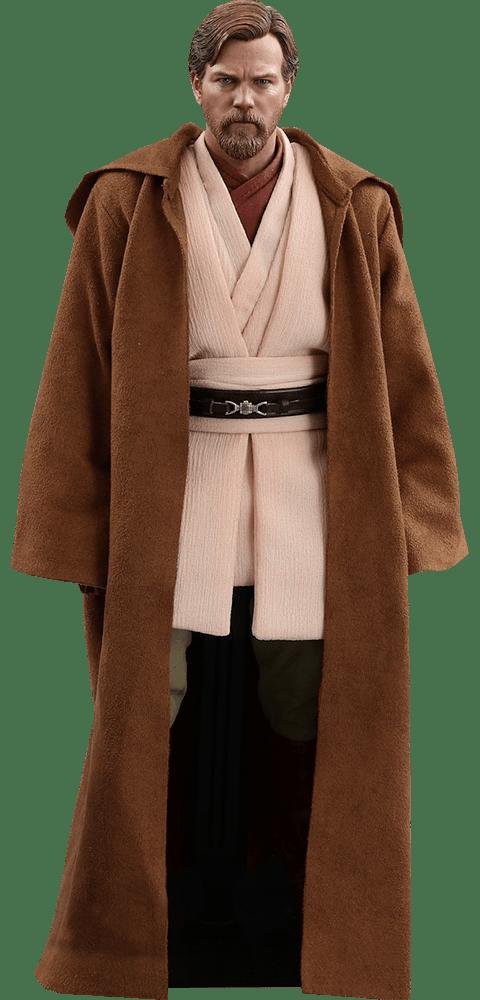 Boneco Obi-Wan Kenobi (Deluxe Version): Star Wars: A Vingança dos Sith (Revenge of the Sith) Escala 1/6 (MMS478) - Hot Toys ( Apenas Venda Online)