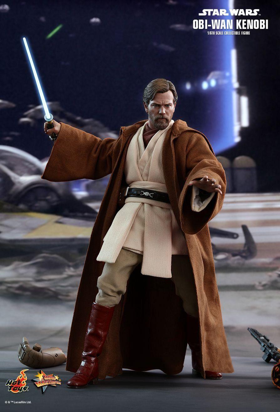 PRÉ VENDA: Boneco Obi-Wan Kenobi: Star Wars: A Vingança dos Sith (Revenge of the Sith) Escala 1/6 (MMS477) - Hot Toys