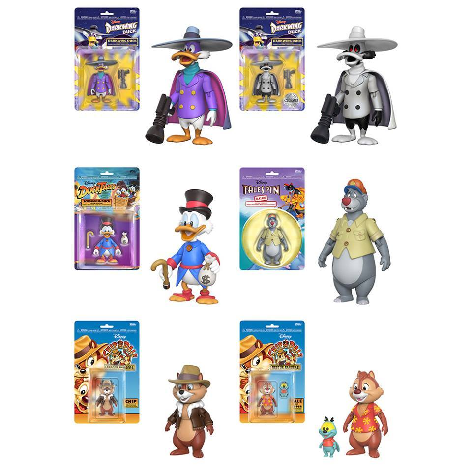 PRÉ VENDA: Boneco Pack Disney Afternoon (Set com 6) - Funko