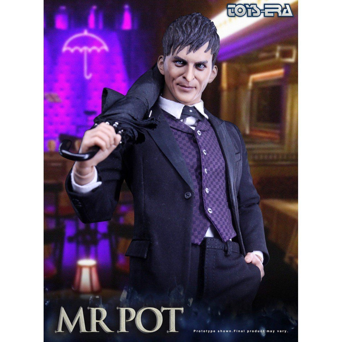 PRÉ VENDA: Boneco Pinguim (The Mr Pot / Oswald Cobblepot / Penguin): Batman Escala 1/6 - Toys Era