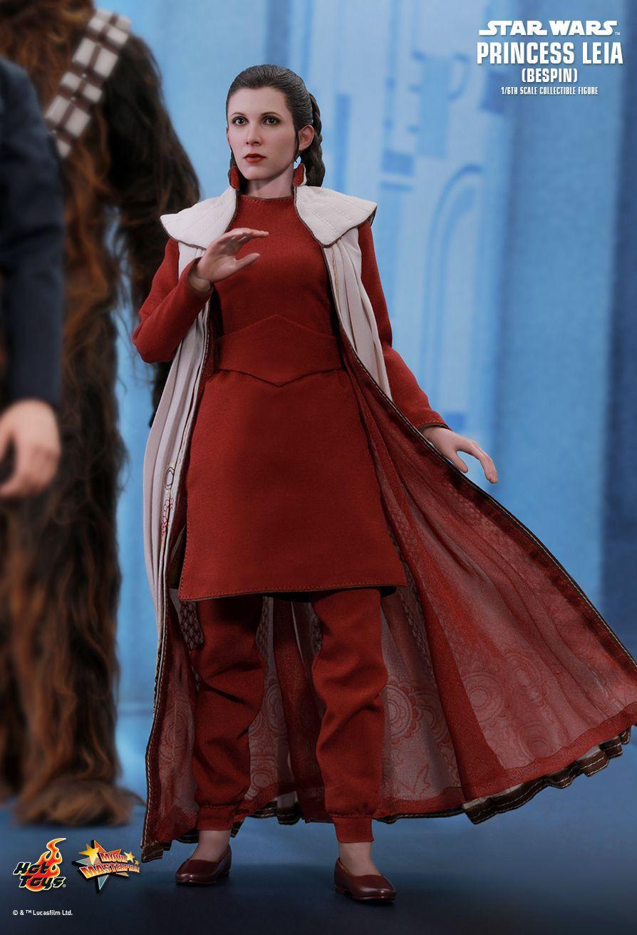 PRÉ VENDA: Boneco Princesa Leia (Princess Leia) Bespin: Star Wars O Império Contra-Ataca (The Empire Strikes Back) MMS508 Escala 1/6 - Hot Toys