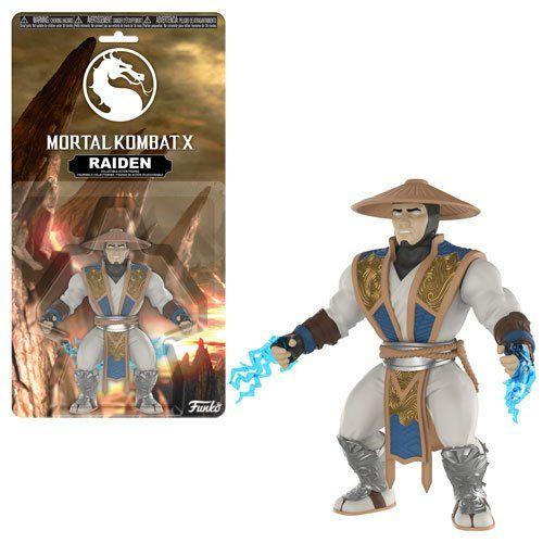 PRÉ VENDA: Boneco Raiden: Mortal Kombat - Funko