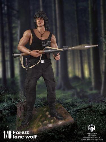 Boneco Rambo Jungle Wolf Escala 1/6 - Hy Toys (Apenas Venda Online)