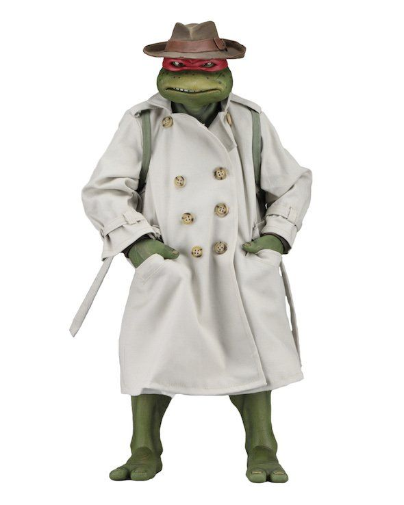 PRÉ VENDA: Boneco Raphael In Disguise 1/4 - Teenage Mutant Ninja Turtles - NECA