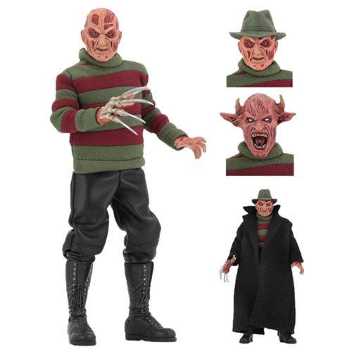 """PRÉ VENDA Action Figure Retrô Freddy 8"""": A Hora do Pesadelo 7: O Novo Pesadelo (Nightmare On Elm Street: New Nightmare Freddy) Boneco Colecionável - Neca"""