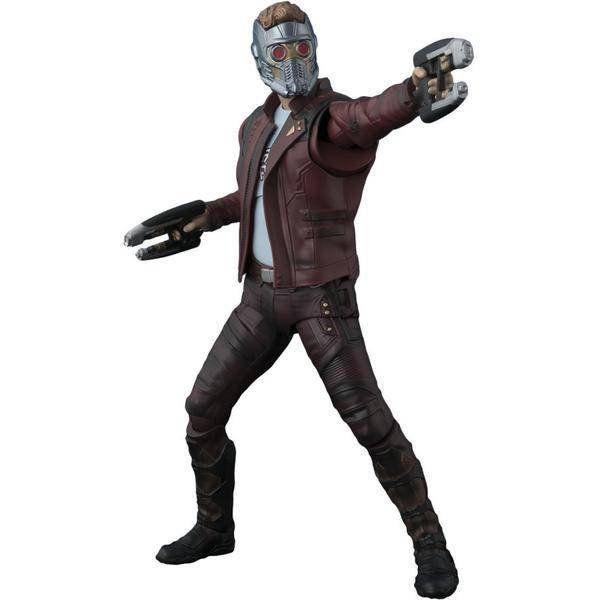 Boneco Senhor das Estrelas (Star-Lord): Guardiões da Galáxia Vol.2 com Efeito de Explosão S.H. Figuarts - Bandai - CD
