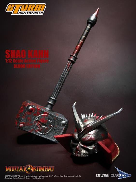 PRÉ VENDA: Boneco Shao Kahn: Mortal Kombat Classic (Special Edition) 1/12 - Storm Collectibles