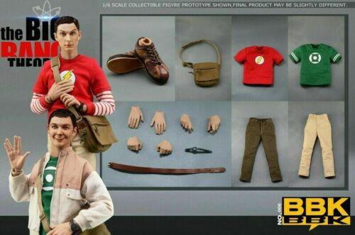 PRÉ VENDA Action Figure Sheldon Cooper: The Big Bang Theory (Escala 1/6) Boneco Colecionável - BBK Toys