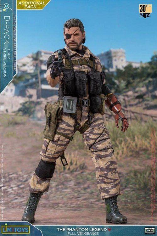 PRÉ VENDA: Boneco Snake (Camuflado): Metal Gear Solid V 1/6- Lim Toys