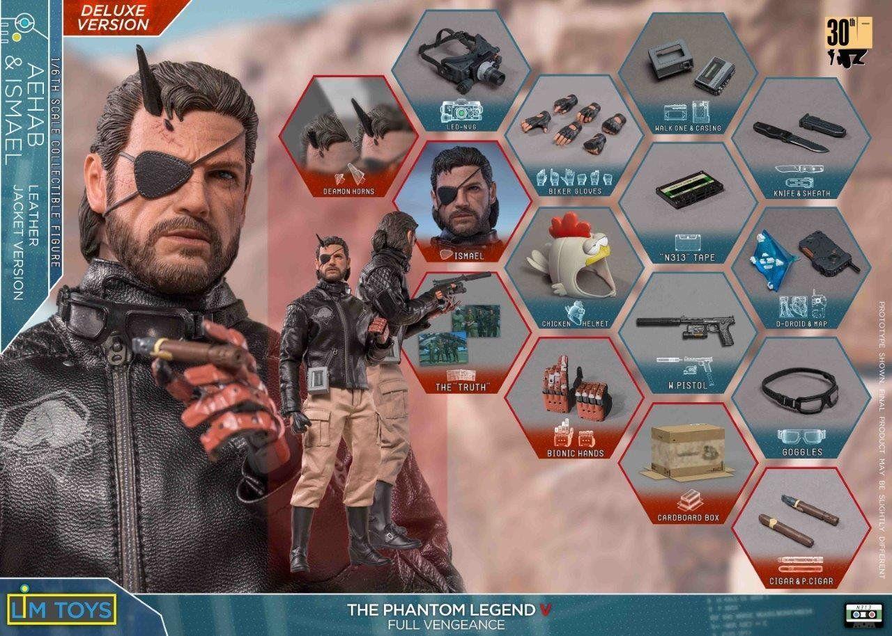 PRÉ VENDA: Boneco Solid Snake: Metal Gear Solid V 1/6 - Lim Toys