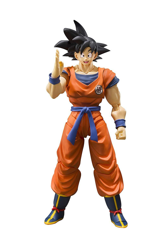 Boneco Son Goku (A Saiyan Raised On Earth): Dragon Ball Z - S.H Figuarts - Bandai