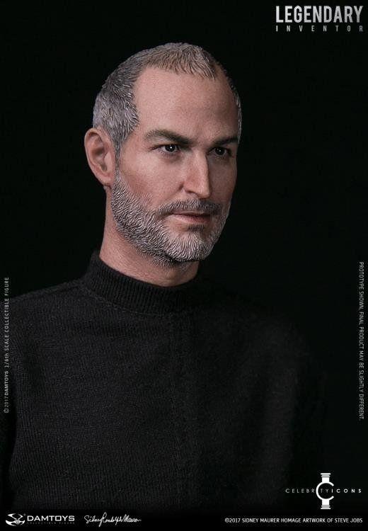 PRÉ VENDA: Boneco Steve Jobs: Legendary Inventor 1/6 - Damtoys